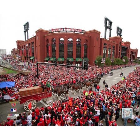 Busch Stadium 2011 MLB World Series Victory Parade