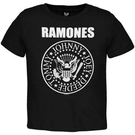 Ramones Boys' Seal Toddler Tee Childrens T-shirt Black