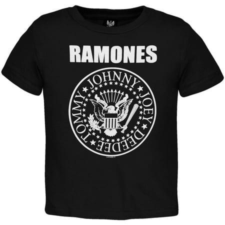 Ramones Boys' Seal Toddler Tee Childrens T-shirt Black](Childrens Clothing Usa)