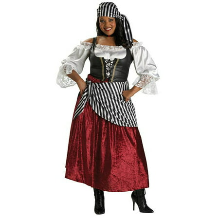 Adult Plus Pirate's Wench (Pirate's Wench Adult)