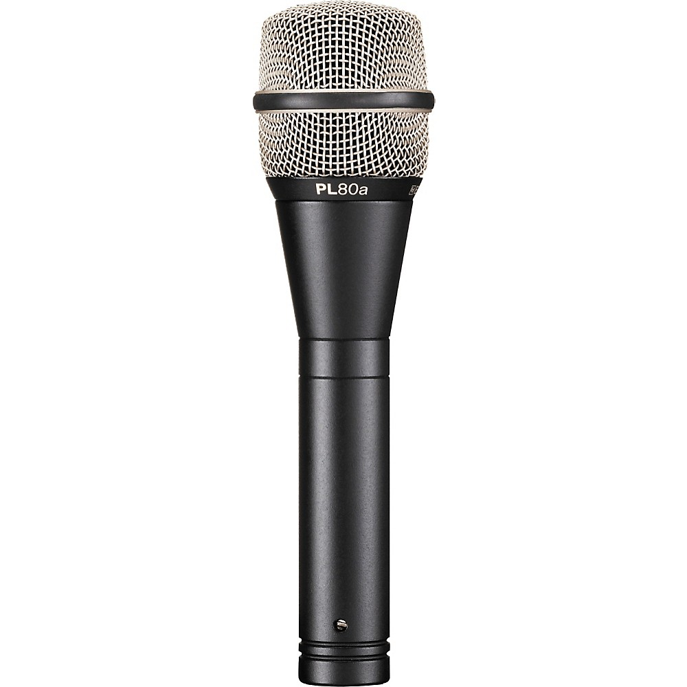 Electro-Voice PL80 Dynamic Microphone Standard Finish by Electro-Voice