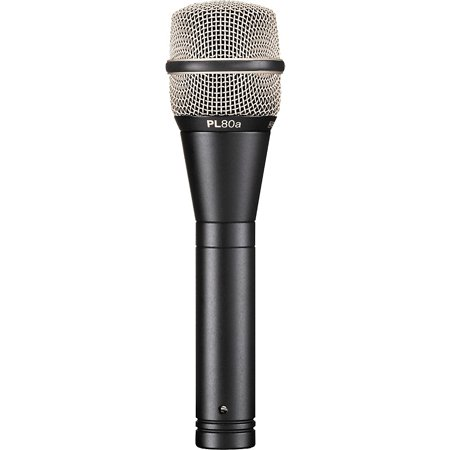 Electro Voice Omnidirectional Dynamic Mic - Electro-Voice PL80 Dynamic Microphone Standard Finish