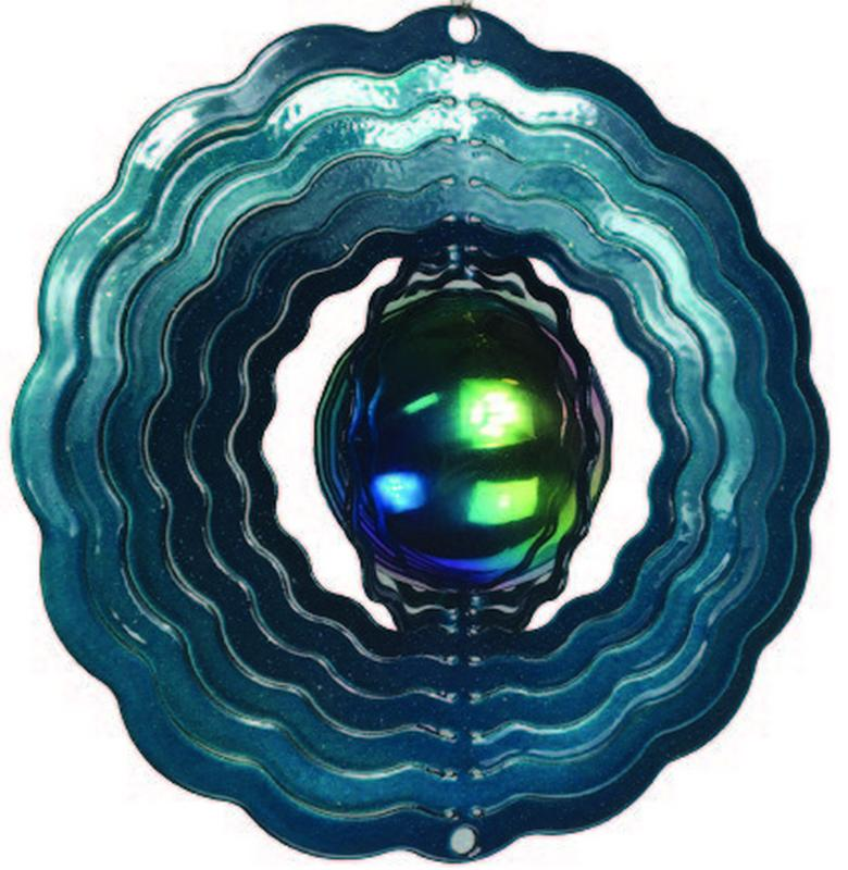 Patio and Garden Decor Teal Gazing Ball by Next Innovations