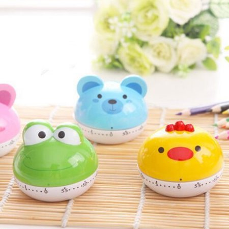 Cartoon Animal Kitchen Timer Cute Cooking Mechanical Home Decor