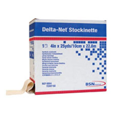 Wp000 6863 6863 Bandage Delta Net Stockinette Tubular Lf Ns Synth Reuse 3 X25yd Roll   6863 From Bsn Medical  Inc