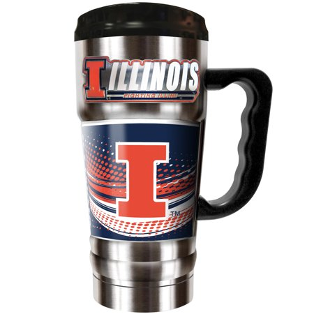 Illinois Beer Mug Illinois Fighting Illini Beer Mug