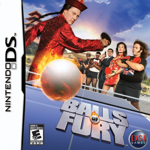 Balls of Fury Nintendo DS Game