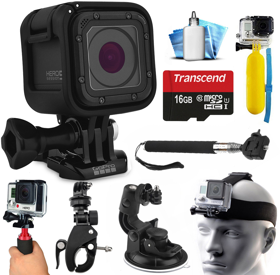 gopro hero5 session hd action camera chdhs 501 with. Black Bedroom Furniture Sets. Home Design Ideas