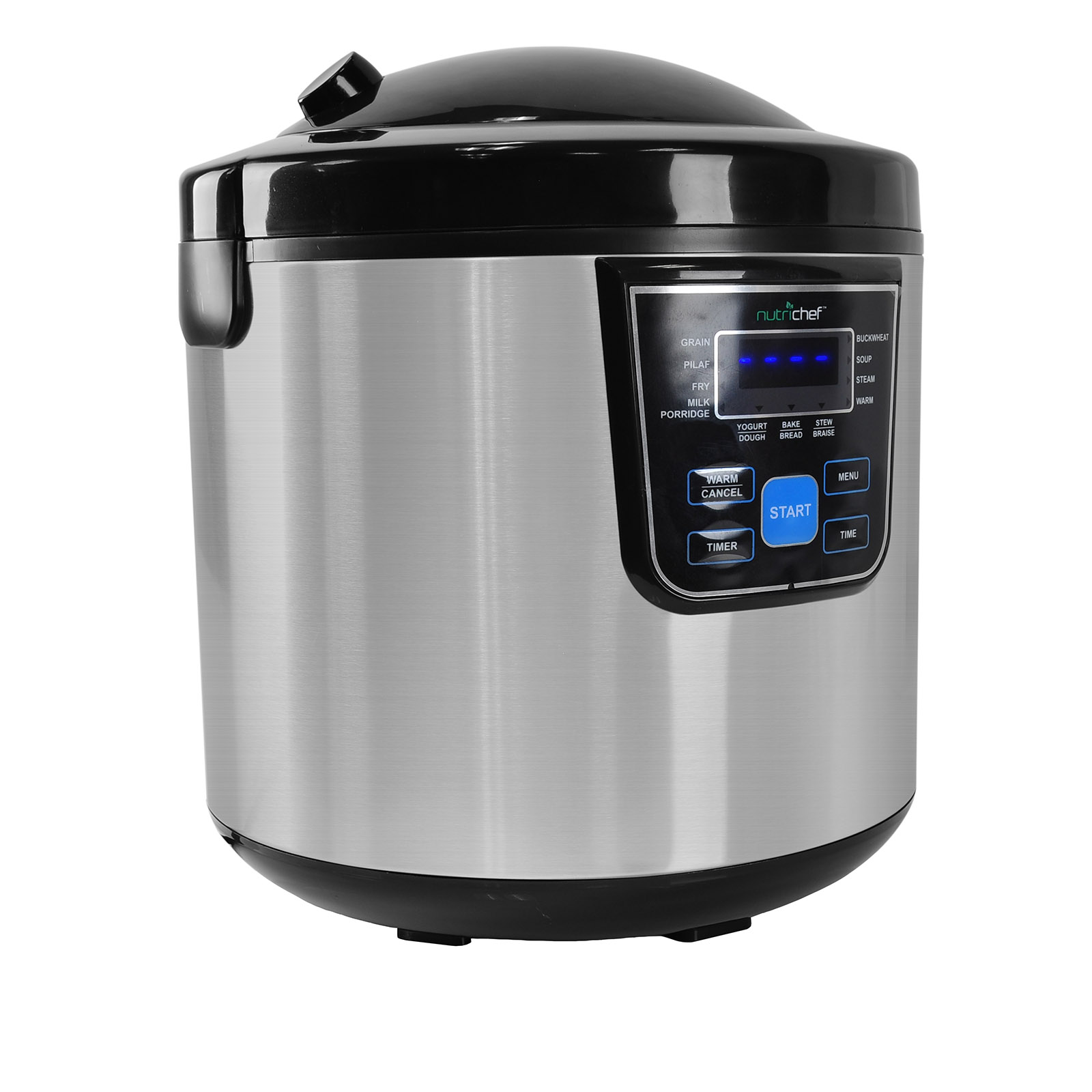 NutriChef Multi-Cooker / Rice Cooker, Multifunction Slow Cooker and Steamer