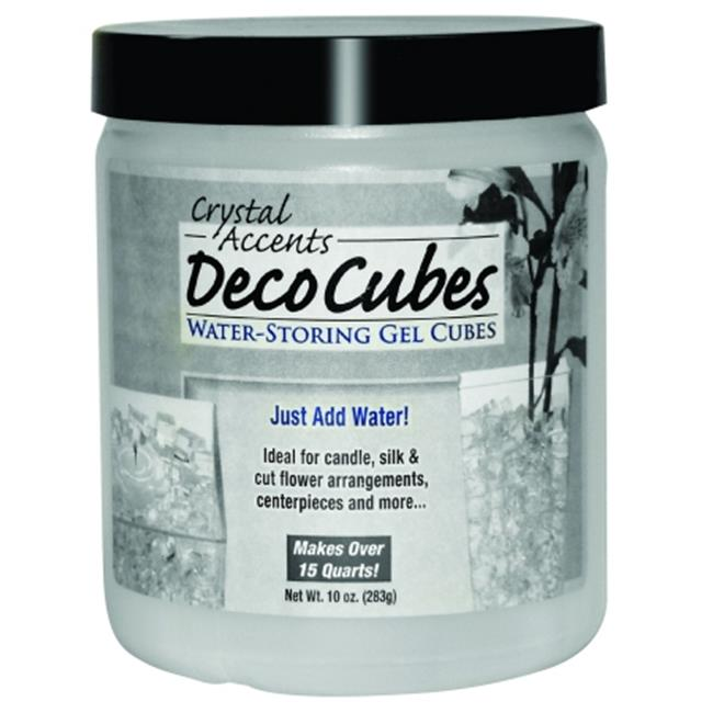 JRM Chemical DC-B10 Deco Cubes 10 oz jar Blue -pack of 6