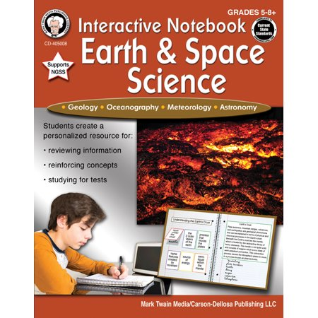 Interactive Notebook: Earth & Space Science, Grades 5 -