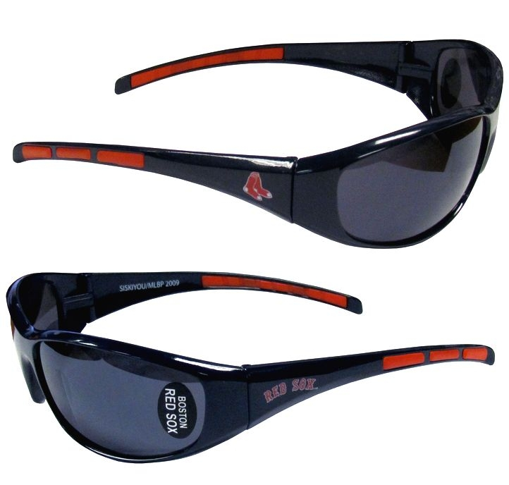 Boston Red Sox Official MLB Sunglasses by Siskyou 031168