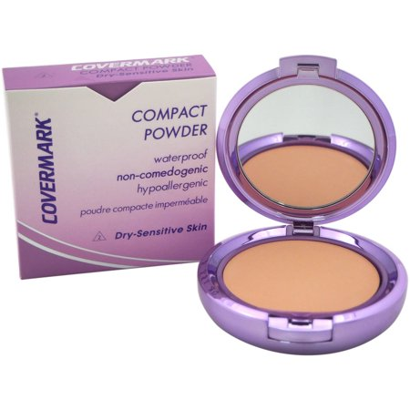 Covermark for Women Compact Powder Waterproof # 2 Dry Sensitive Skin, 0.35
