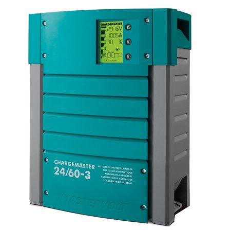 Mastervolt Chargemaster 60 Amp Battery Charger 3 Bank 24V
