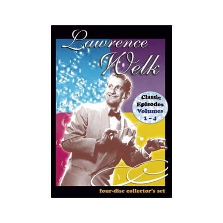 Classic Episodes of the Lawrence Welk Show: Volumes 1-4 (DVD) - Tv Shows Halloween Episodes