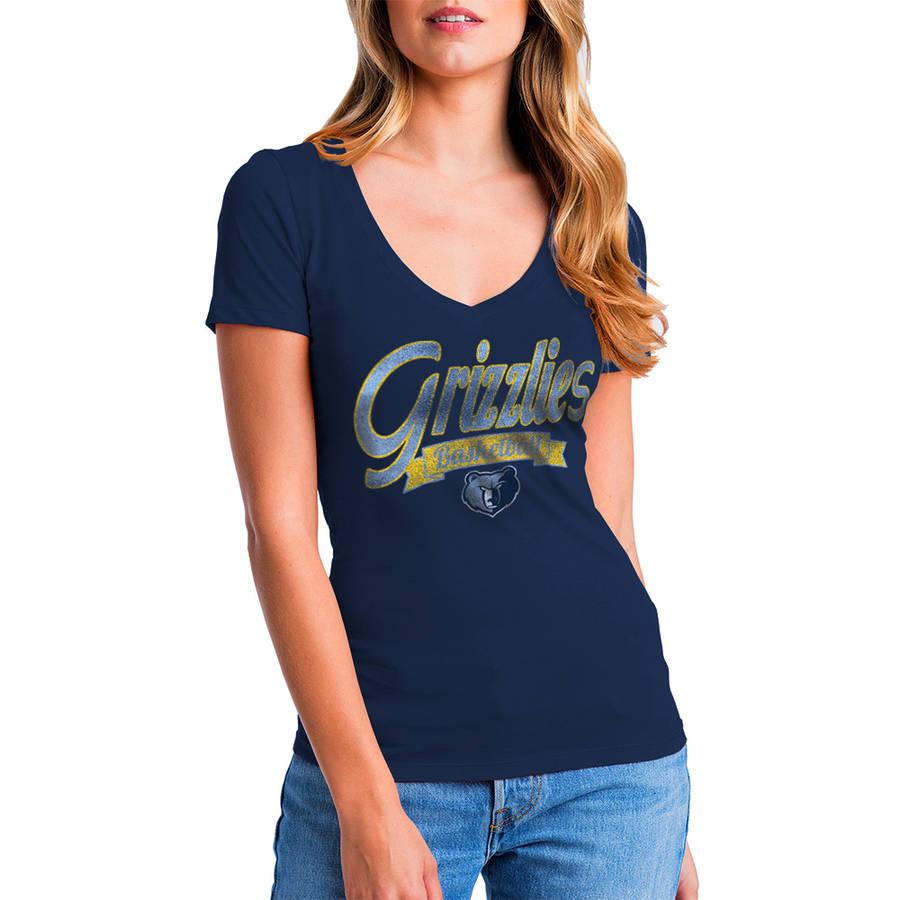 NBA Memphis Grizzlies Women's Short Sleeve Graphic Tee