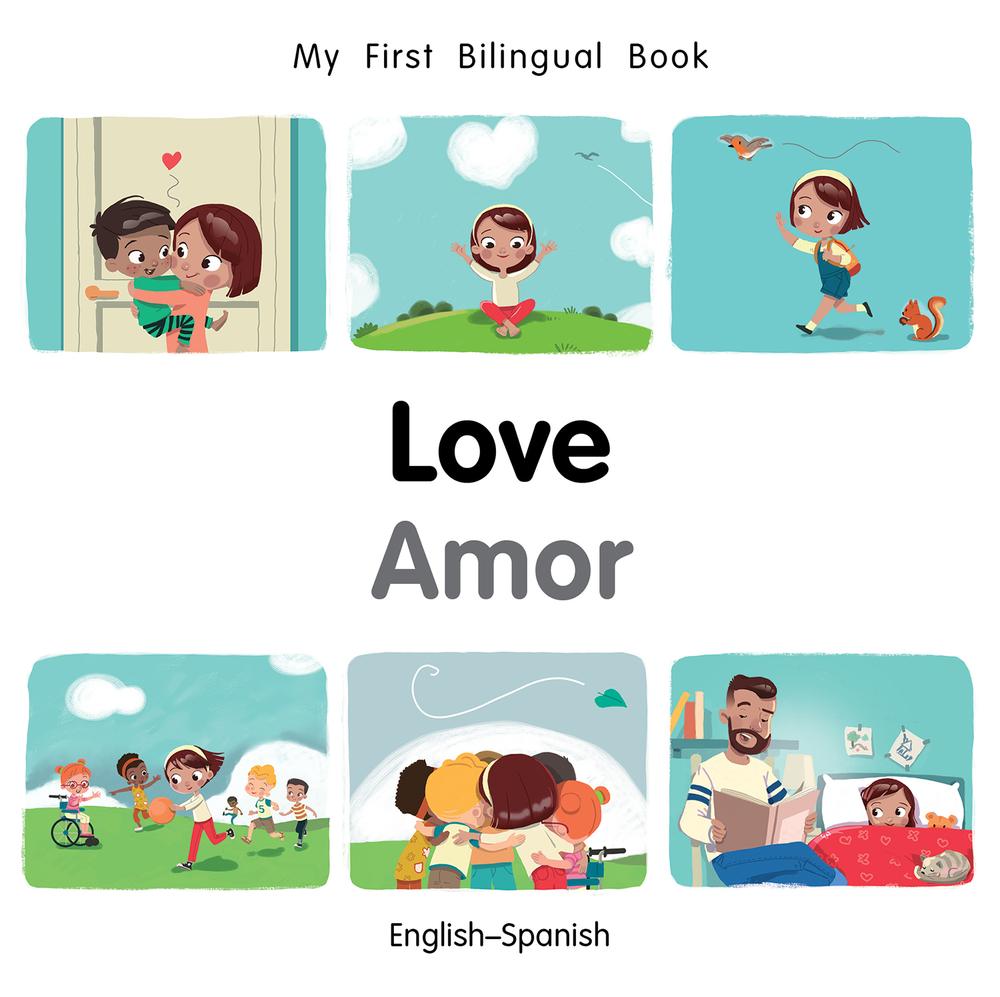 My First Bilingual Book-Love (English-Spanish) (Board Book)