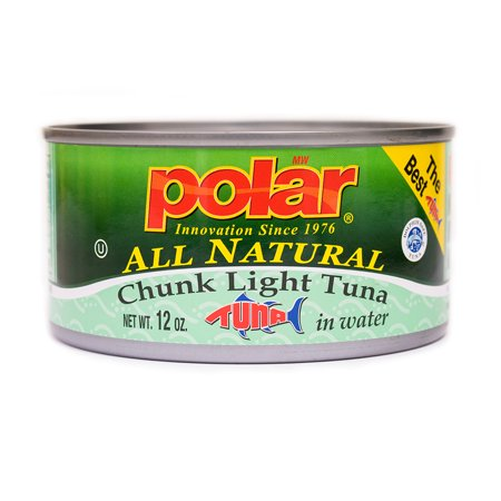 MW Polar All Natural Chunk Light Tuna 12 oz.