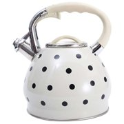 Selm Stainless Steel Tea Kettle 3. 5L Stovetop Tea Pot Boiling Teapot Coffee Tea Kettle Heating Water Container Water Boiling Kettle Hot Water Kettle with Handle for Outdoor Camping Gas Stovetop