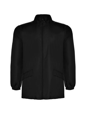 Adler Windbreaker Rain Jacket Hooded - IF FOR MEN: SIZING RUNS SMALL GET THE NEXT SIZE UP - Full Zip - Adjustable Draw Cord Two Front Pockets - Packable In Its Own Pocket