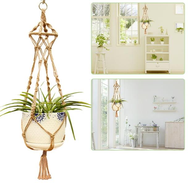 Eeekit Macrame Plant Hangers Indoor