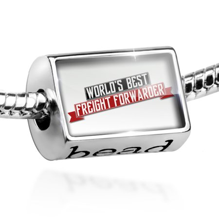 Bead Worlds Best Freight Forwarder Charm Fits All European