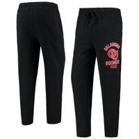 Oklahoma Sooners Starter Option Run Fleece Pants - Black