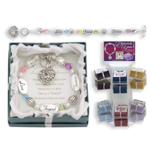 Bulk Buys Love  Friend  Forever Expression Bracelet - Pack of 3