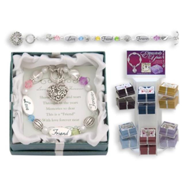 Bulk Buys Love  Friend  Forever Expression Bracelet - Pack of 3