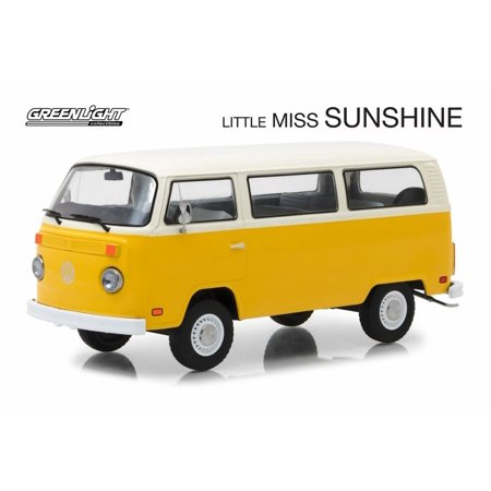 T2 Bus - 1978 Volkswagen Type 2 (T2) Bus, Little Miss Sunshine - Greenlight 84081 - 1/24 scale Diecast Model Toy Car