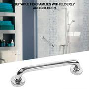 Ejoyous 30cm Thicken Stainless Steel Bathroom Bathtub Grab Bar Safety Hand Rail for Bath Shower Toilet, Hand Rail, Bathroom Grab Bar
