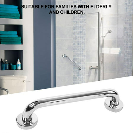 Ejoyous 30cm Thicken Stainless Steel Bathroom Bathtub Grab Bar Safety Hand Rail for Bath Shower Toilet, Hand Rail, Bathroom Grab