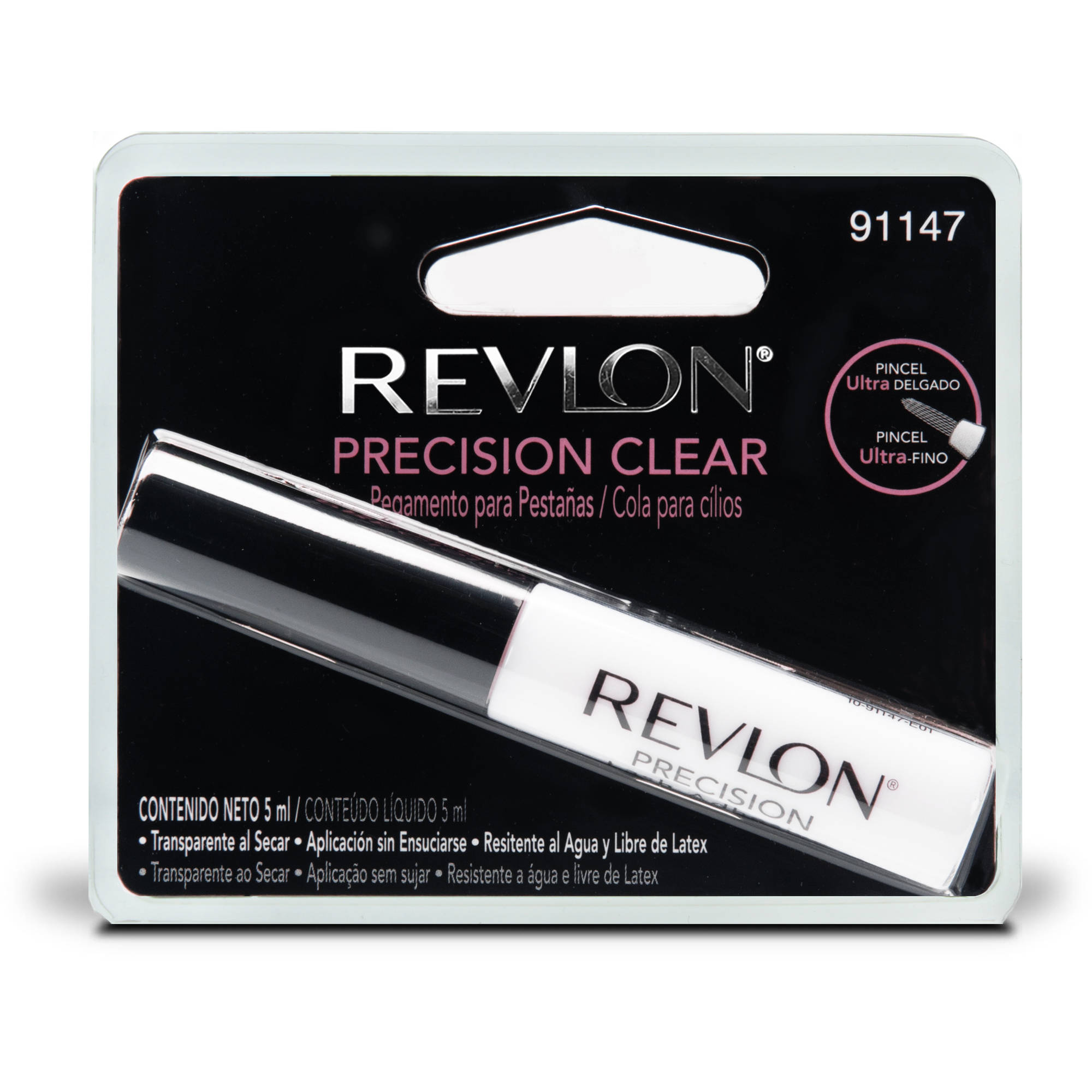 Pacific World Revlon Precision Lash Adhesive 017 Oz Mascara Eyeliner Waterproof