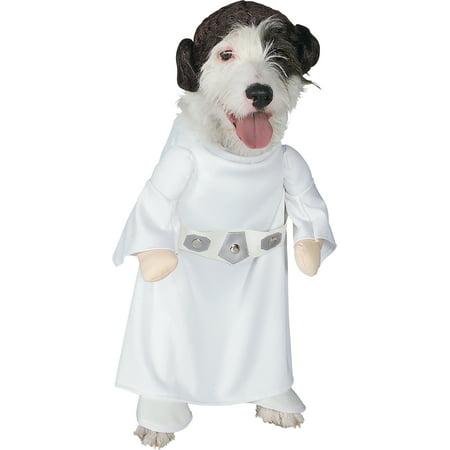 Rubie's Princess Leia Pet Costume-Large - image 2 de 2