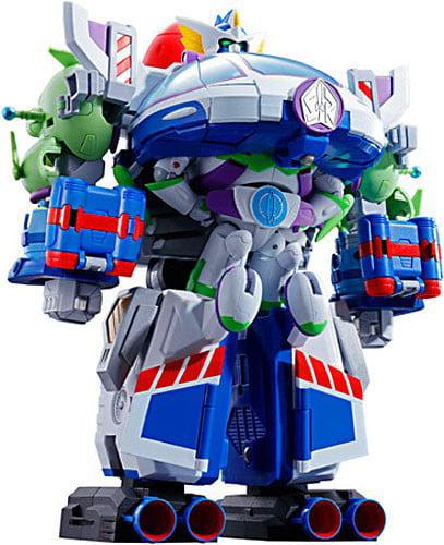 Toy Story Chogokin Chogattai Buzz the Space Ranger Robo Action Figures by Bandai