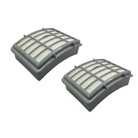 2 Hepa Filters For Shark Navigator Lift Away Nv350 Nv355 Nv356 Nv370