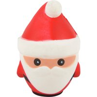 Christmas Winter North Pole Santa Squishie Toy Party Favor