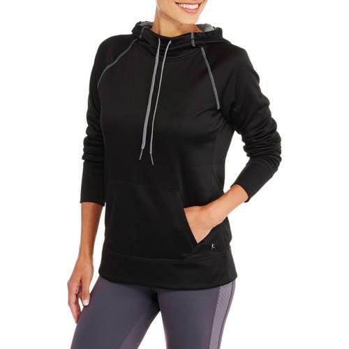 Danskin Now Women's Active Raglan Tech Fleece Hoodie