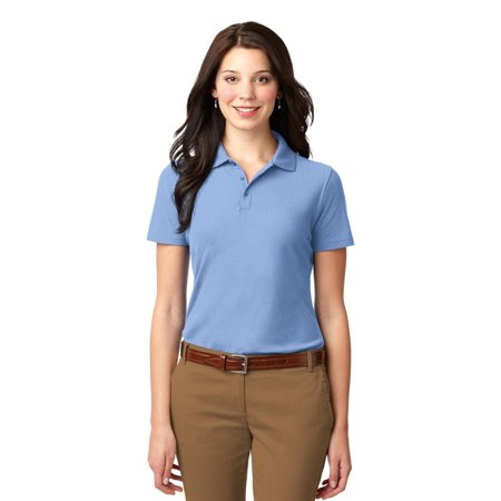 Port Authority® Ladies Stain-Resistant Polo. L510 Light Blue 3Xl - image 1 of 1