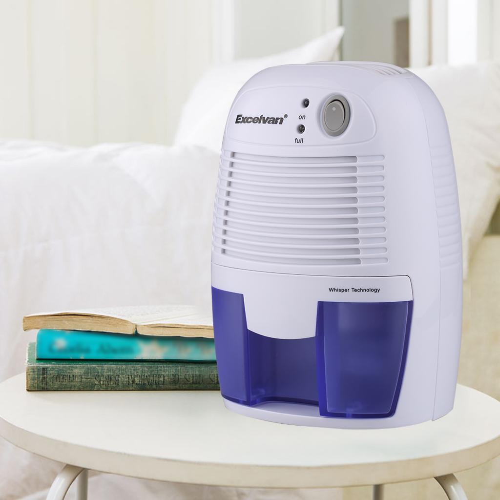 Bathroom Dehumidifier excelvan portable home 1.5l mini air dehumidifier bathroom kitchen