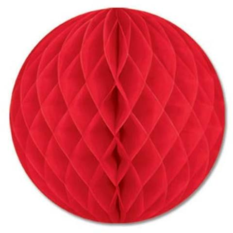 Tissue Ball (Red) Case Pack 12