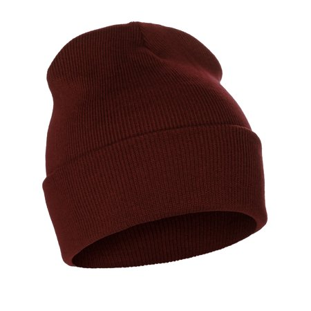 Classic Plain Cuffed Beanie Winter Knit Hat Skully Cap, Unisex Toboggan Hat