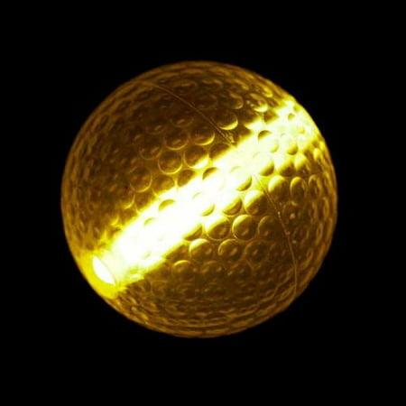 Glow Stick Golf Ball Orange (Glow Golf Supplies)