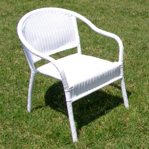 Harbor All Weather Wicker Bistro Chair