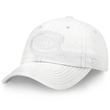 Cp Hat Sale (Montreal Canadiens Fanatics Branded Women's Go Fundamental Adjustable Hat - White -)