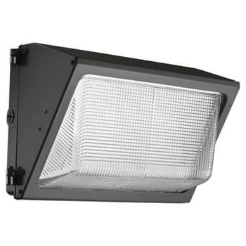 Lithonia Lighting 3450-Lumen 28-watt Bronze Integrated LED Wall Pack Light