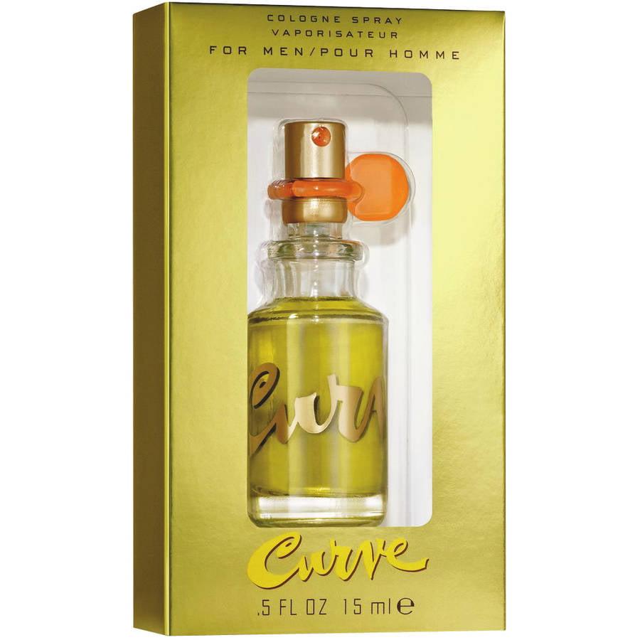 Curve Claiborne Cologne Spray for Men, 0.5 fl oz