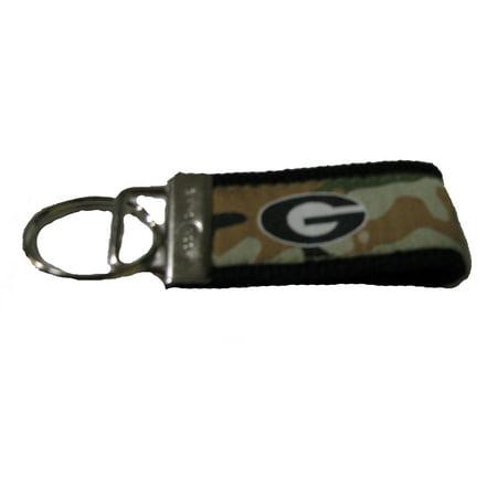 Camouflage Georgia Bulldogs Ribbon (Bulldog Keychain)
