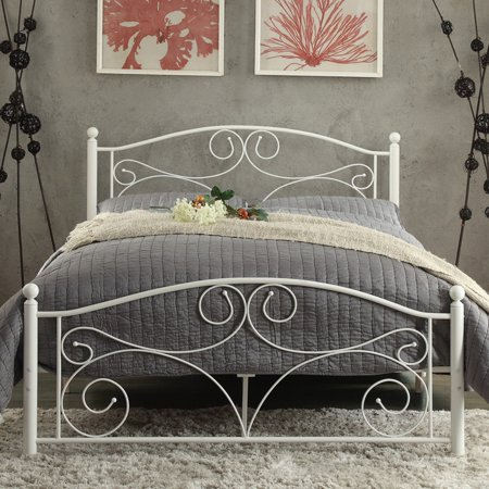 Weston Home Pallina Metal Platform Bed - (Weston Mall)