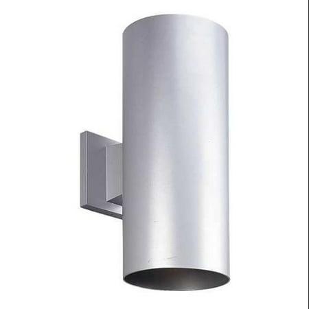 PROGRESS P5642-82 Wall Lantern,Outdoor,120V,Metallic Gray G8313033 by